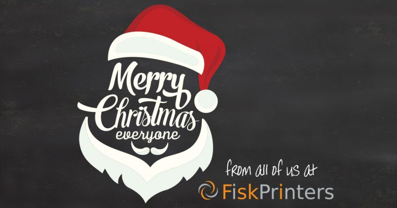 Merry Christmas from Fisk Printers